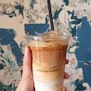 Iced Latte ($6)