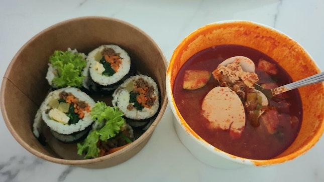 Comforting Korean Food