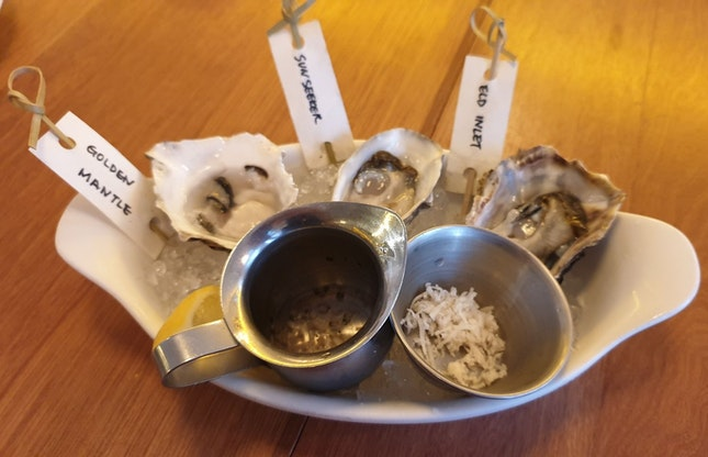 Happy Hour Oysters ($3 Each)