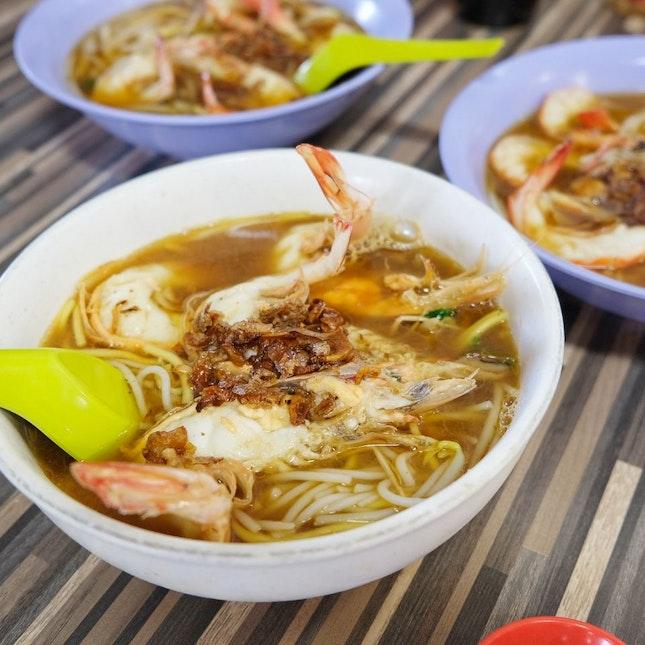 Best Prawn Noodles In SG