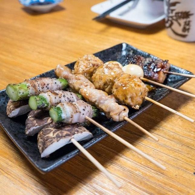 Yakitori Platter ($13)