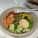 Salmon Poke Soba ($10)