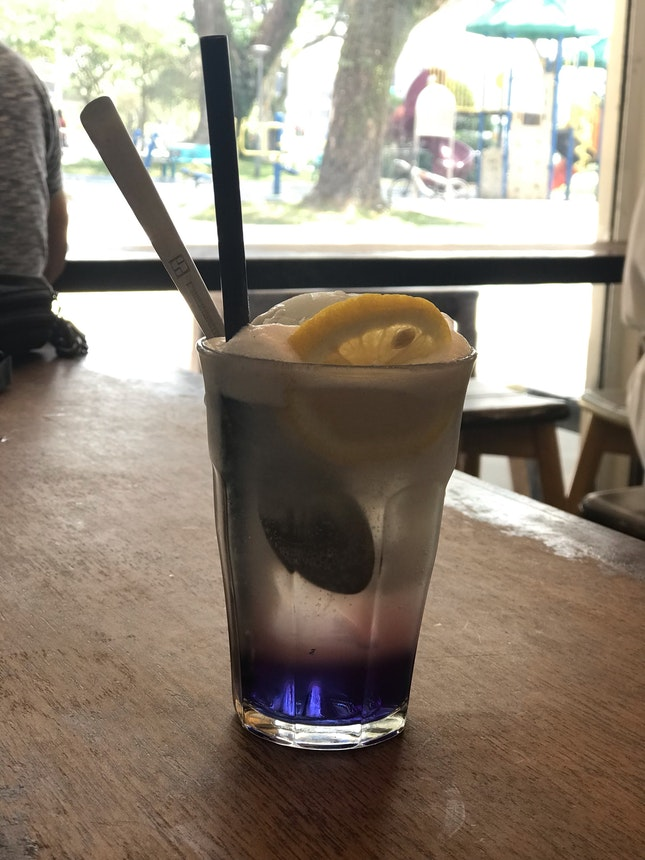 New Blue Pea drink