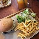 Portobello Burger ($18.90)