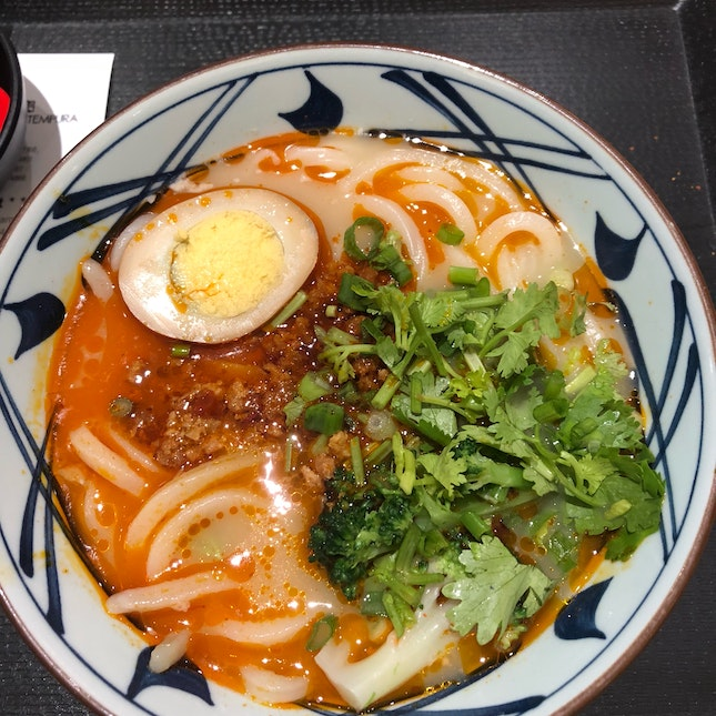 Spicy Udon With Meat Paste ($8.90)