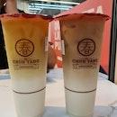 Oolong Milk Tea Latte & Black Milk Tea Latte