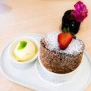 Nutella Soufflé 💕  #dessert #dessertkl #nutella #klcafe #burpple #kleats