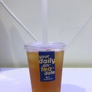 Cold Brew Earl Gray With Passion Boba ($2.50)