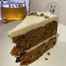 Carrot Cake (S$7.50 per slice).