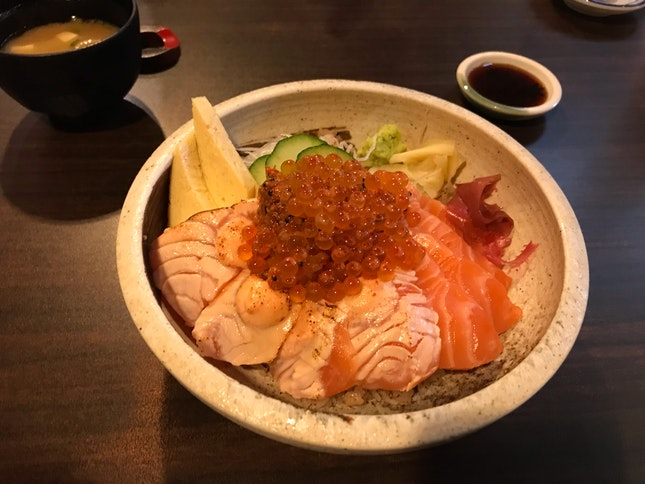 Best Value For Sashimi Rice Bowl