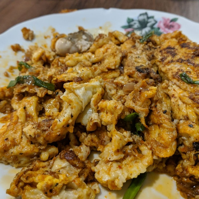 Fried Oyster Eggs
