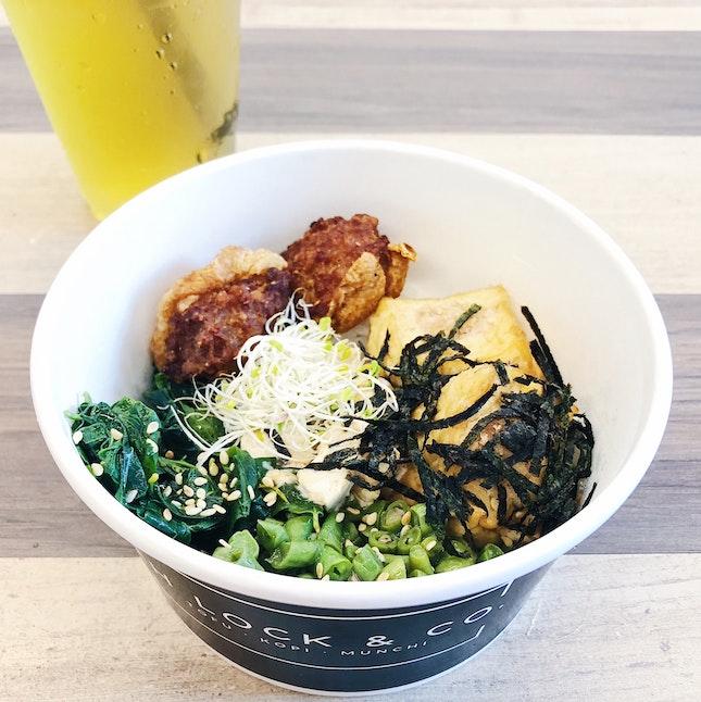 Tofu Bowl Set ($9.90)