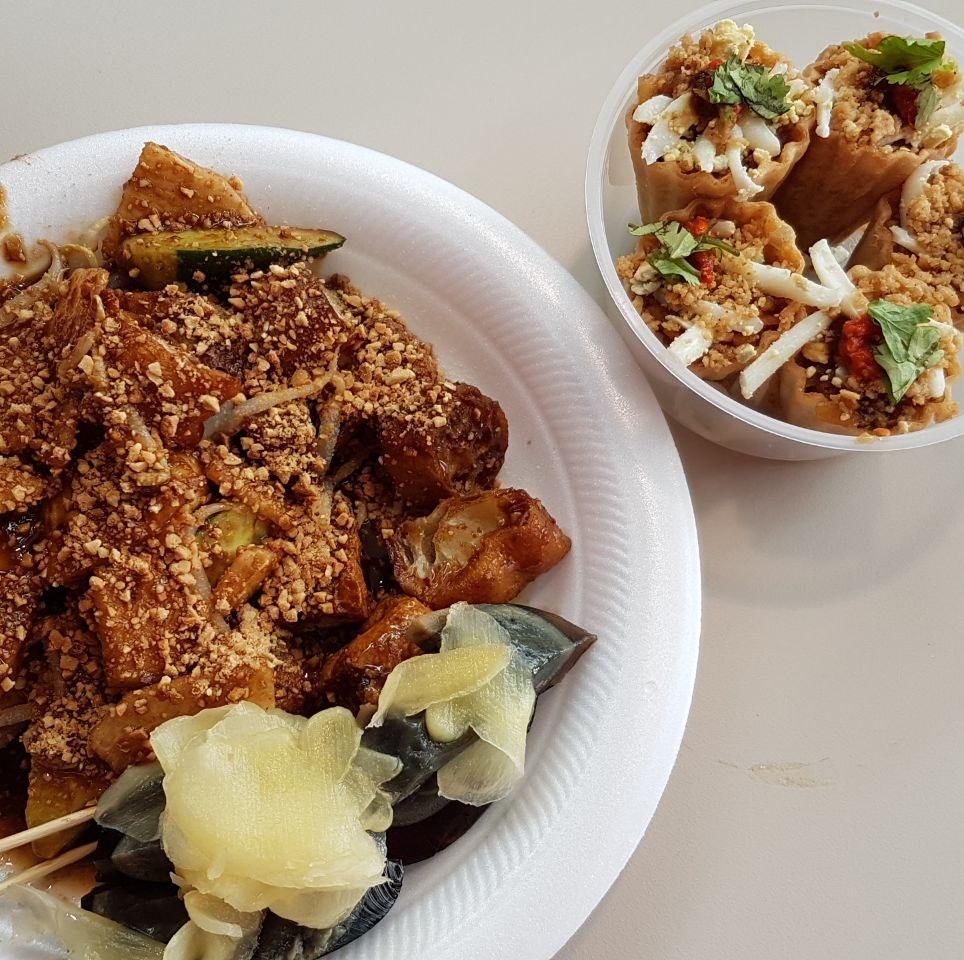 Rojak And Kueh Pie Tee