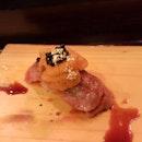 Wagyu Uni Sushi