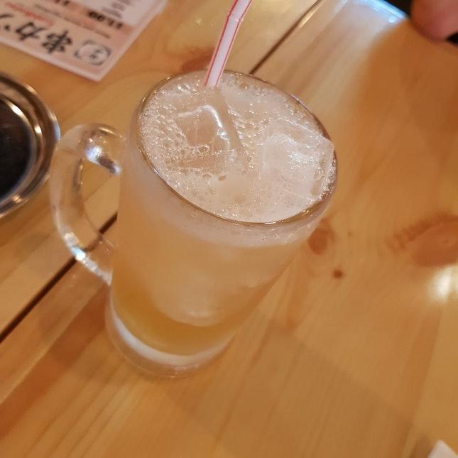 Yuzu Umeshu Soda $9.50