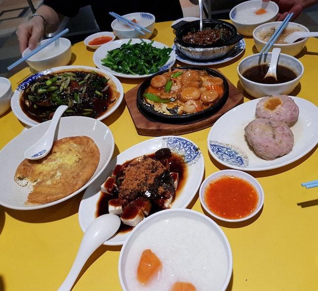 Taiwan Porridge For 6 Pax