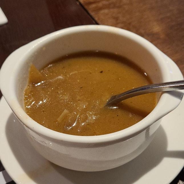 Respectable Onion Soup
