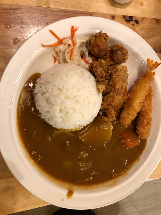 Japanese Curry Combo
