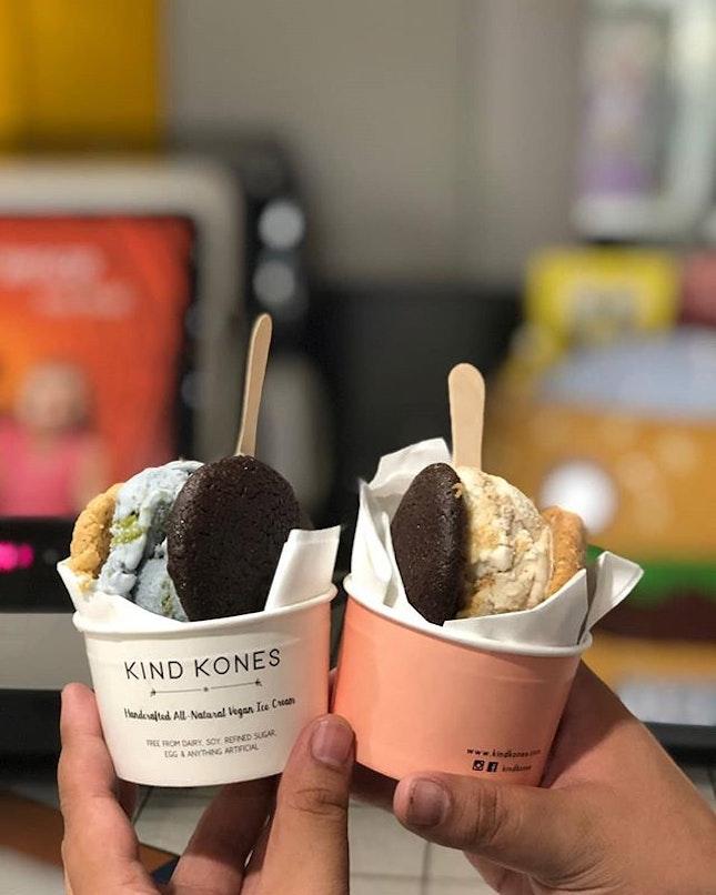 Ice cream without milk or cream?