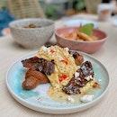 scrambled eggs croissant ($16)