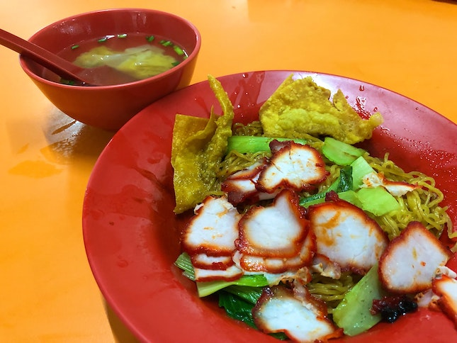 Zao Dao Cooked Food Wanton Noodles