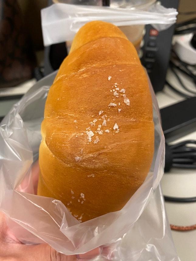 Rock Salt Butter Croissant 🥐