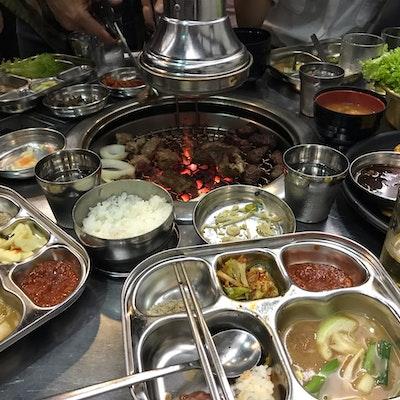 Brilliant Super Star K Korean Bbq Restaurant Tanjong Pagar Burpple Interior Design Ideas Gentotryabchikinfo