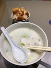 Parrot Fish Belly Porridge And Youtiao