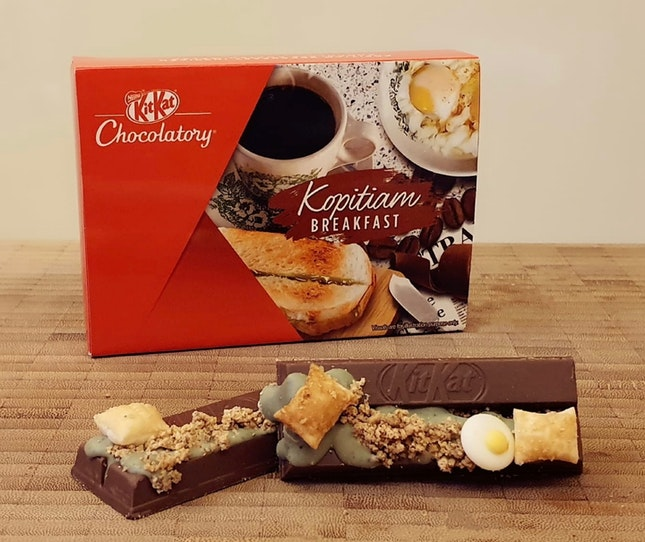 KitKat Chocolatory's Kopitiam Breakfast ($7.50)