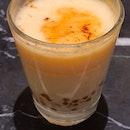 Crème brûlée gula melaka sago