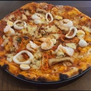 Laksa Pizza ($24)