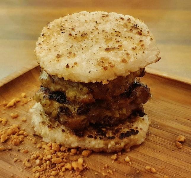 Satay Burger ($15++)