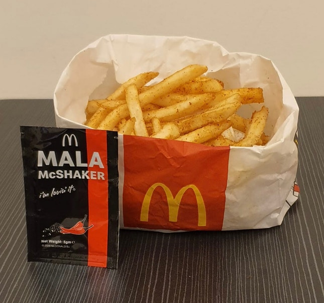 [NEW] Mala Shaker Fries ($3.70)