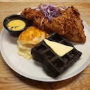 Southern Chicken & Waffles ($22)