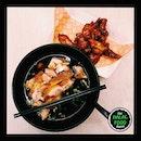 Grilled Chicken + Fried Chicken .