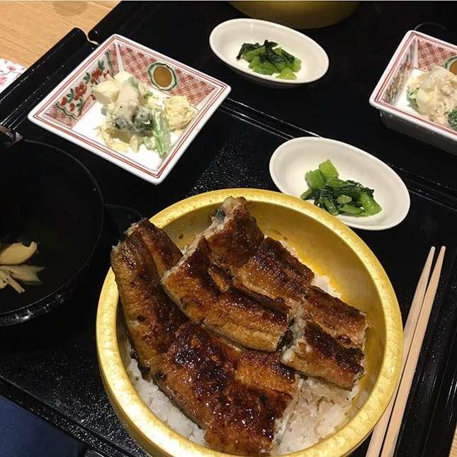 srsly the best unagi i've ever had — the unagi had th perfect charred crisp exterior with a sweet and soft interior.