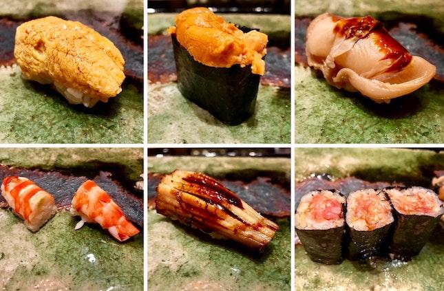 Michelin 1 Star Sushi
