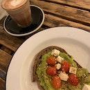 Avocado Toast & Hot Chocolate