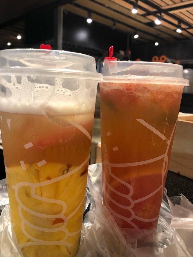 Yummy fruit tea!