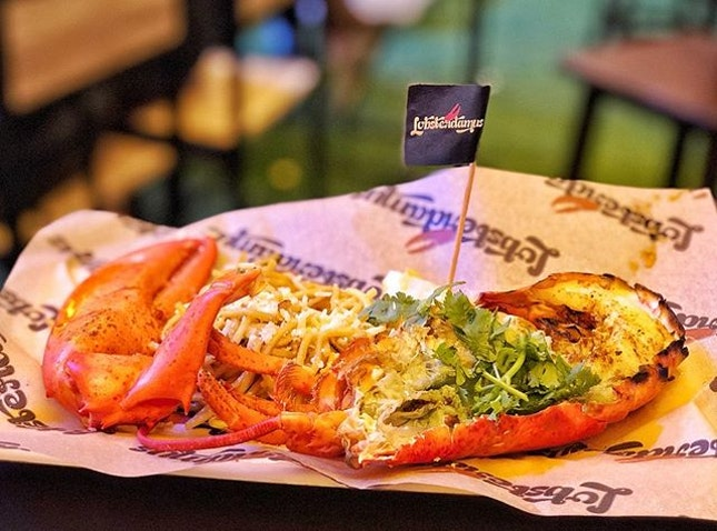 Other than Table65, the other booth I really wanted to try at the GREAT Wine & Dine Festival was Lobsterdamus, the famed LA lobster joint.