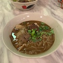 Beef And Pork Boat Noodles
