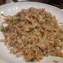 Fried Rice With Xo Sauce And Shrimp Paste Chicken Bits