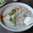 Century Egg Sliced Pork Porridge