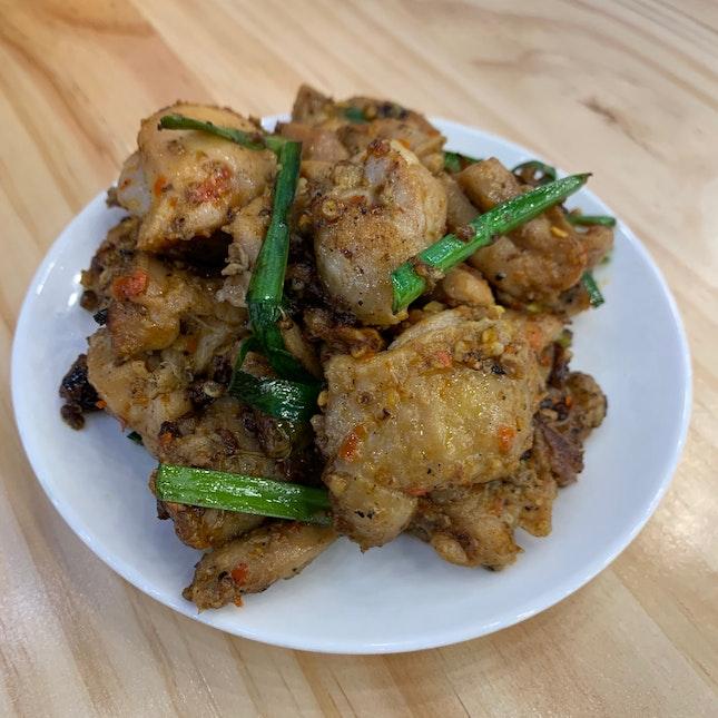 Burnt Chilli Chicken 2.0
