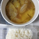 Clear Tomyam Soup With Batang Fish With Rice
