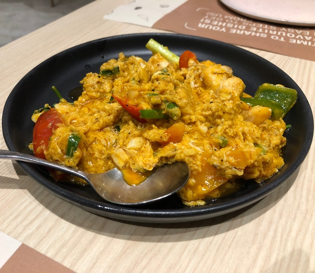 Curry Crab Meat