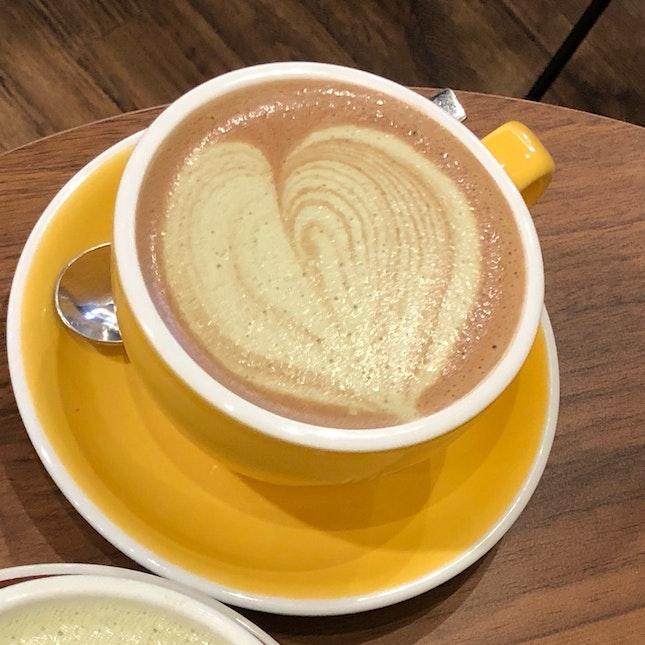 Chocolate Matcha Latte (Large, $6.50)