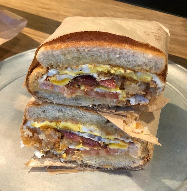 [Breakfast] Fried Egg Power ($13)