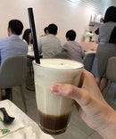 [Beverage] Signature Sea Salt Caramel Latte (Iced, $6.50)