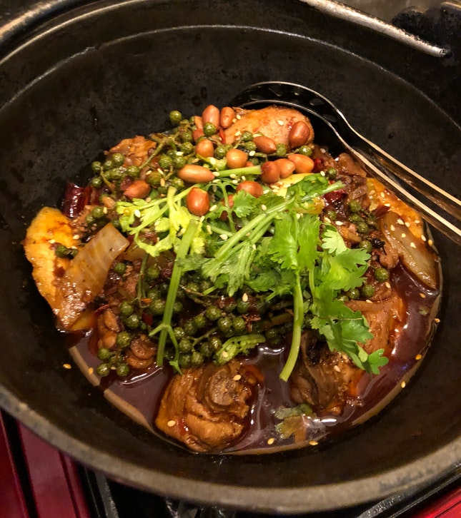 For The Ma La Lovers - Numbing & Fiery Chicken Pot (Small, $20)